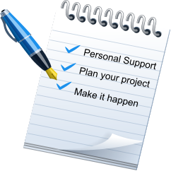Personal Support Plan your project  Make it happen